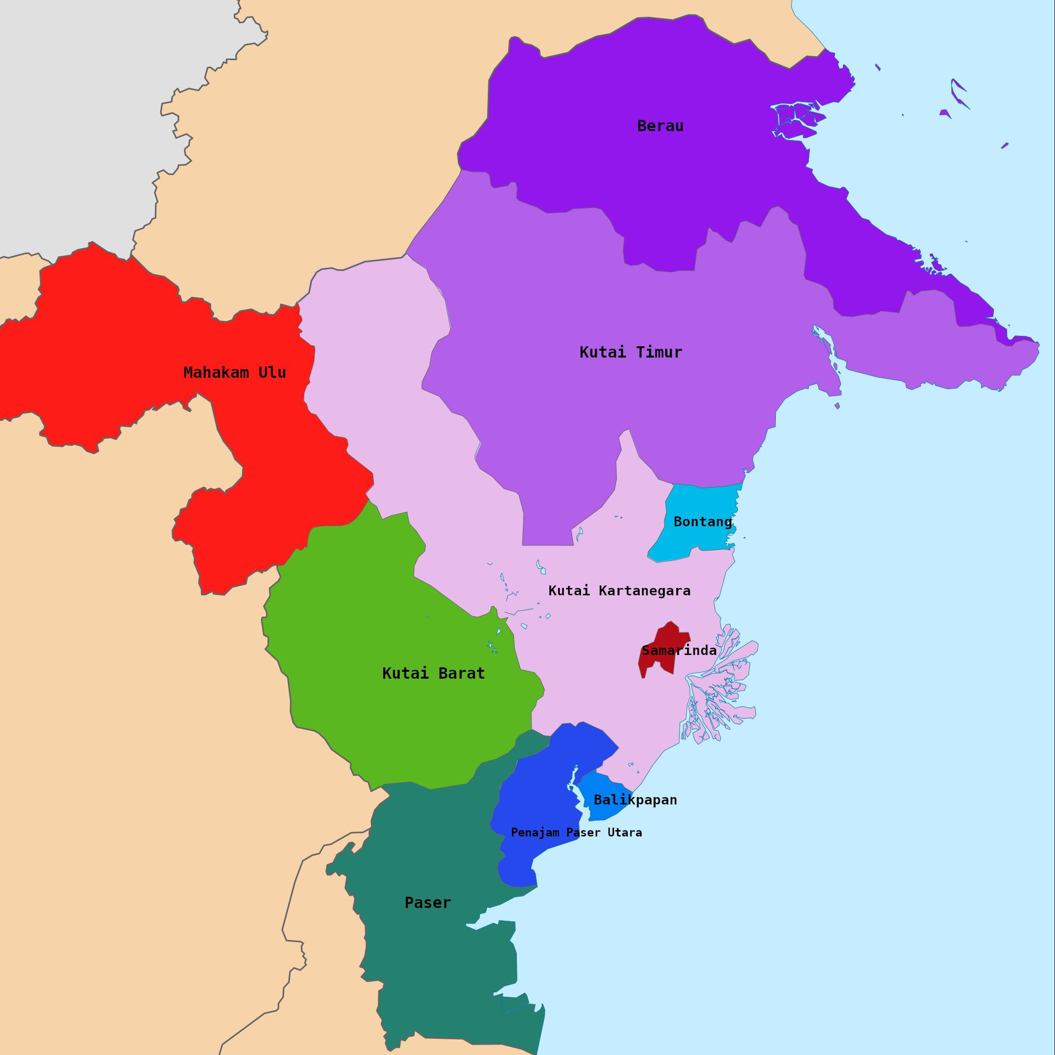 Komunitas Kalimantan Timur
